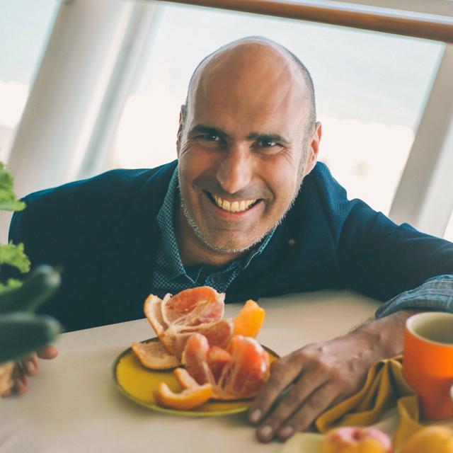 Al Mota, eco-chef de comida saludable y terapéutica